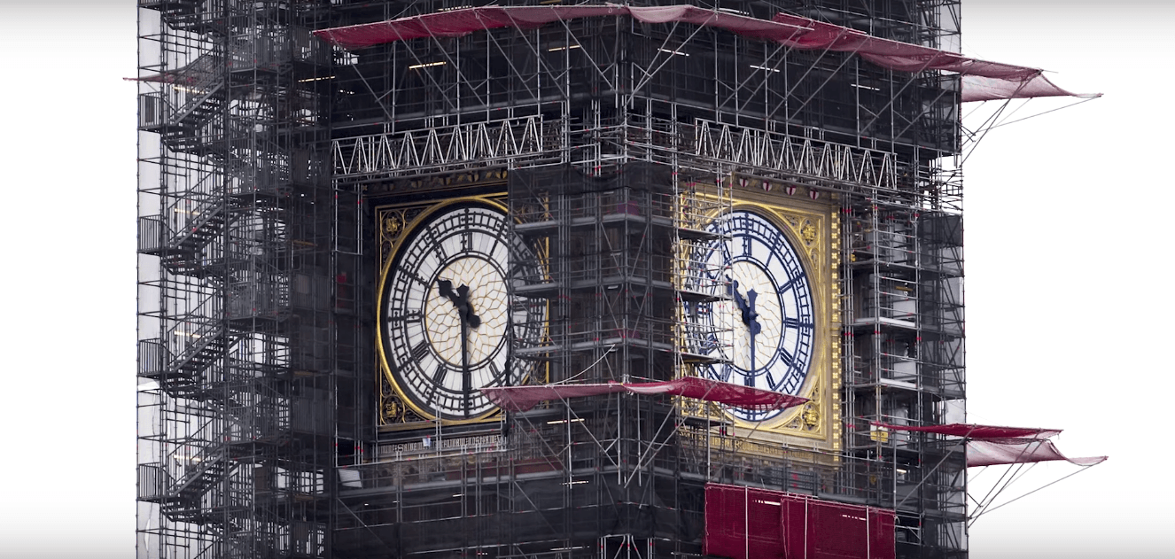 Big Ben renovation