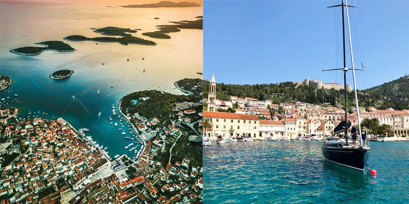 Croatia. Holiday in Croatia. Sightseeing