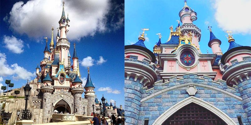France. Attractions list. Disneyland.