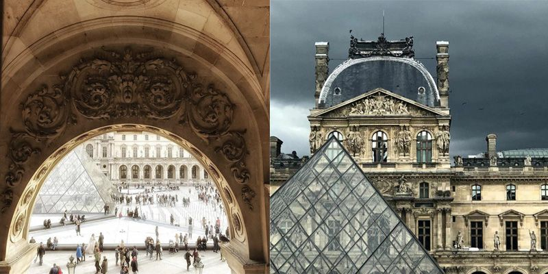 France. Attractions list. Louvre