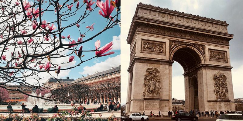 France. Attractions list. Arc de Triomphe