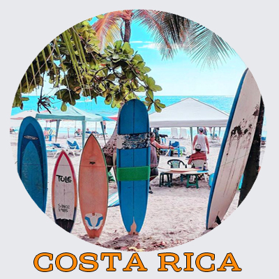 Costa Rica. Holiday in Costa Rica. Sightseeing.