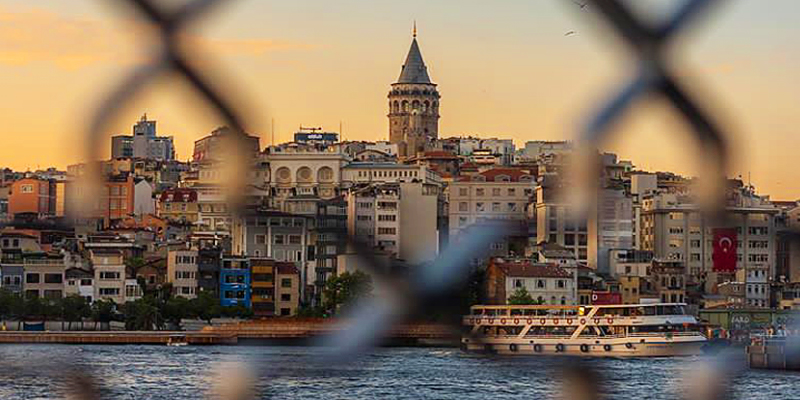 Sights of Istanbul. Street food, museums, restaurants